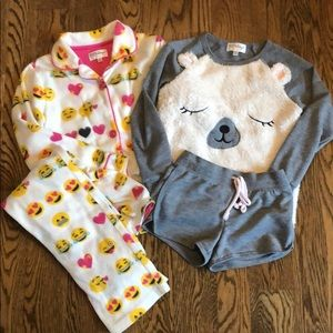 PJ salvage pajama sets